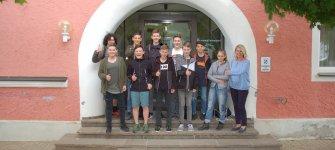 Zehn Jugendliche nahmen begeistert teil