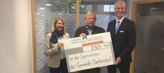 Spendenübergabe in Denkendorf