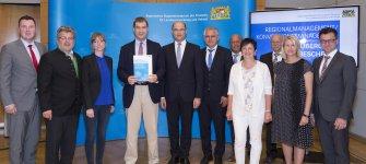 Förderbescheid für das Regionalmanagement