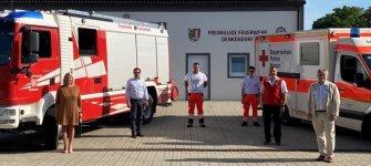 Freiwillige Feuerwehr Denkendorf unterstützt Rettungsdienstpersonal