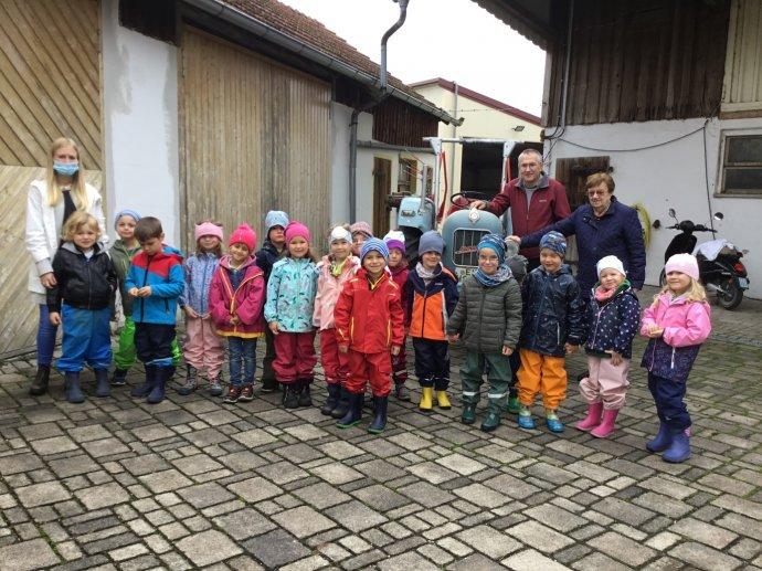 Besuch auf dem Jurahof in Gelbelsee