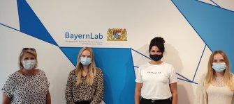 Besuch im BayernLAB