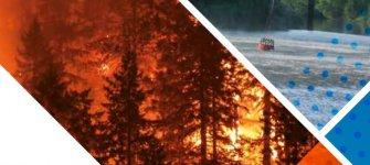 Waldbrandbekämpfung in Bayern